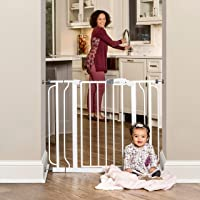 Regalo Easy Step Extra Wide Baby Gate, Includes 4-Inch and 4-Inch Extension Kits, 4 Pack of Pressure Mounts Kit and 4…