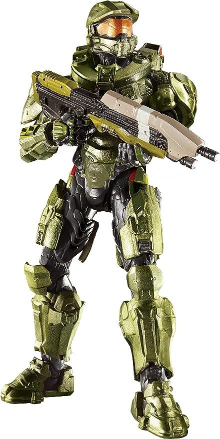 Amazon Com Halo Master Chief 6 Figure Toys Games