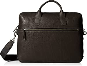 ECCO Ioma Slim Briefcase, Black, One Size