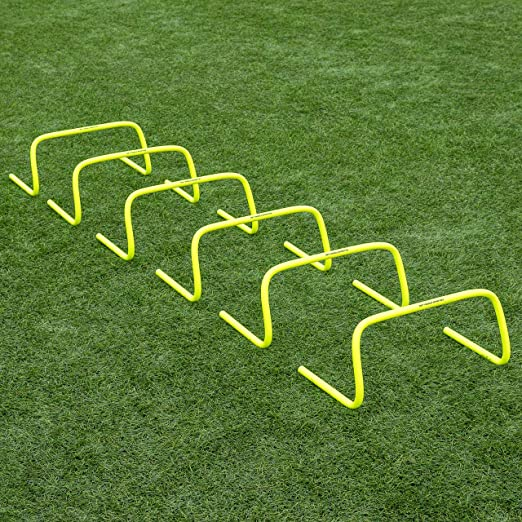 6-pack NEW Hurdles Training Speed Football Agility Sport Soccer Training Aids