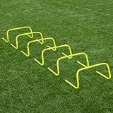"Forza 6""/9""/12' Speed Hurdles for Agility Training [Set of 6 Hurdles]   Hurdles Training Equipment   Multi-Sports…"