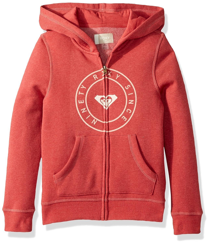 Roxy Girls Big Girls Girl Plans Zip-up Fleece Sweatshirt ERGFT03310