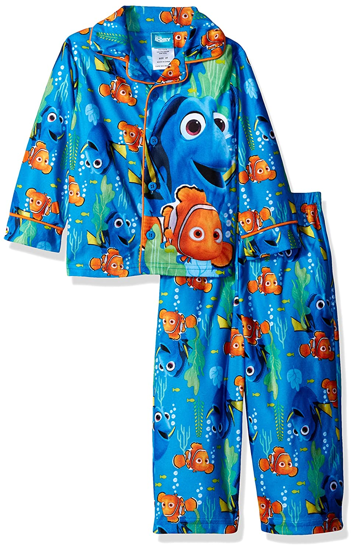 Disney Toddler Boys' Finding Dory 2 Piece Pajama Coat Set
