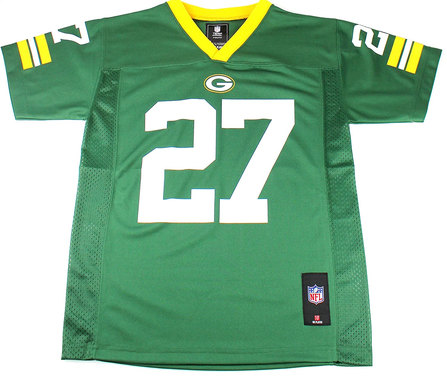 NFL Jersey's Youth Green Bay Packers Eddie Lacy Nike White Game Jersey