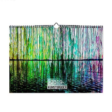 Calendario Artistico.Calendario 2019 Astratto Natura Foglie Calendario 2019