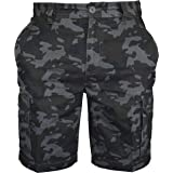 d78097fc69 WestAce Mens Army Casual Work Cargo Combat Camouflage Shorts Cotton Chino  Half Pant Camo