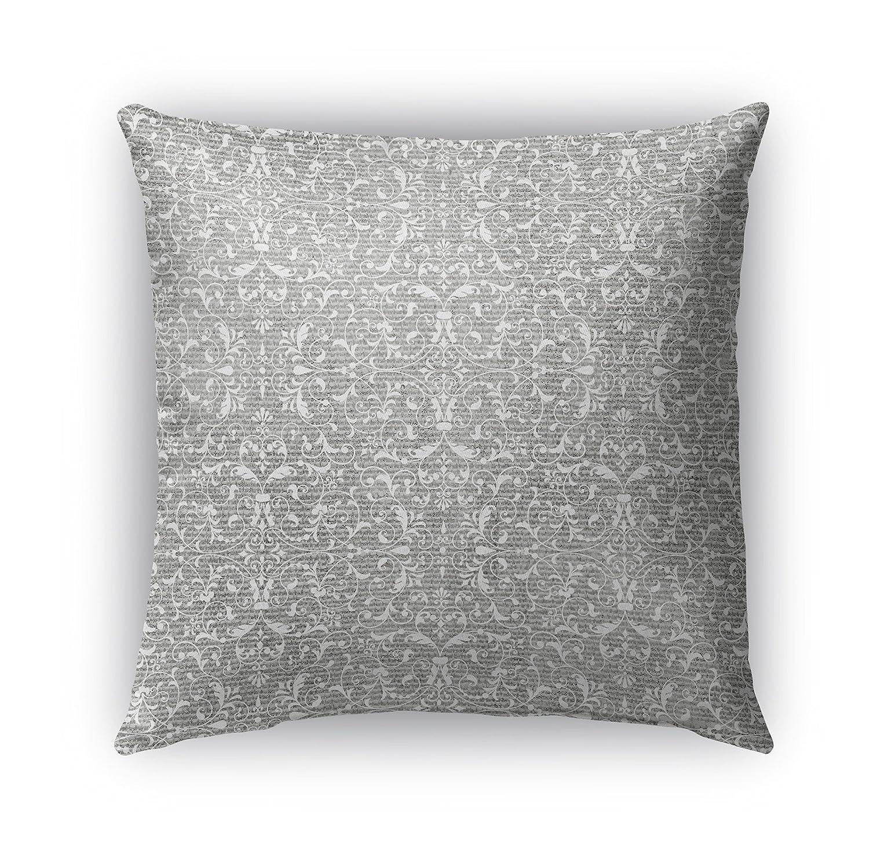 Size: 16X16X6 - Grey - TELAVC1431OD16 KAVKA Designs Pamplona Indoor-Outdoor Pillow,