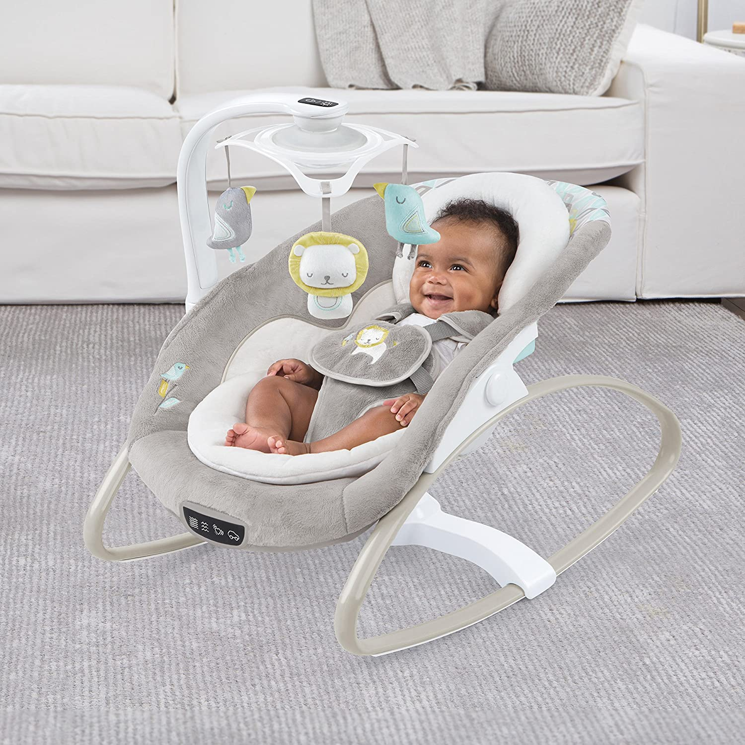 914X6l3DhuL. SL1500 The Best Baby Swings for Colic 2021 [In-depth-Review]