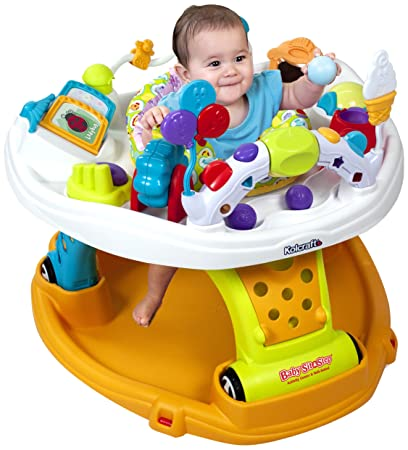Kolcraft Baby Sit and Step 2-In-1 Activity Center, Jamboree (Discontinued