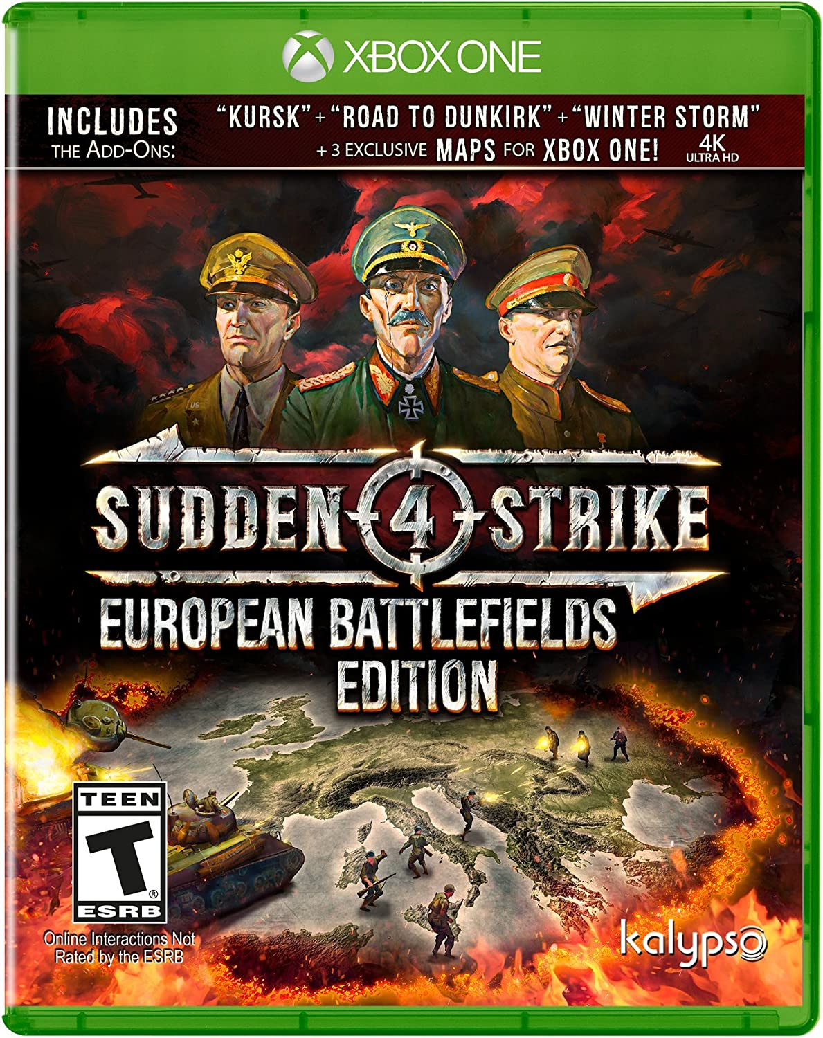 sudden strike 4 european battlefields edition (xone)