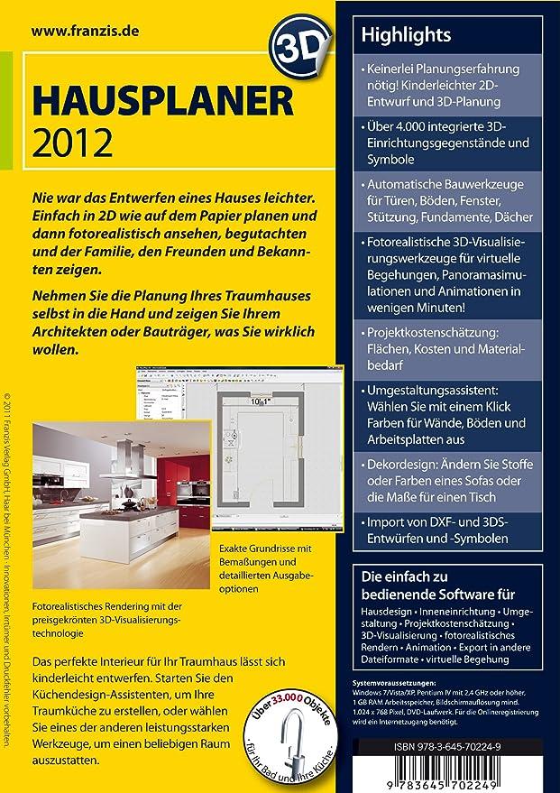 3D Hausplaner 2012: Amazon.de: Software