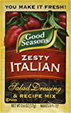 Good Seasons  Salad Dressing & Recipe Mix, Zesty Italian, .6 oz