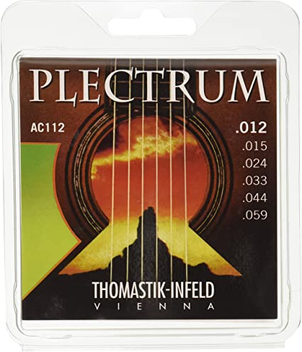 Thomastik Cuerdas para Guitarra Acústica Plectrum Acoustic Series ...