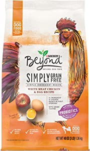 Purina Beyond Grain Free, Natural, Chicken & Egg Adult Dry Dog Food