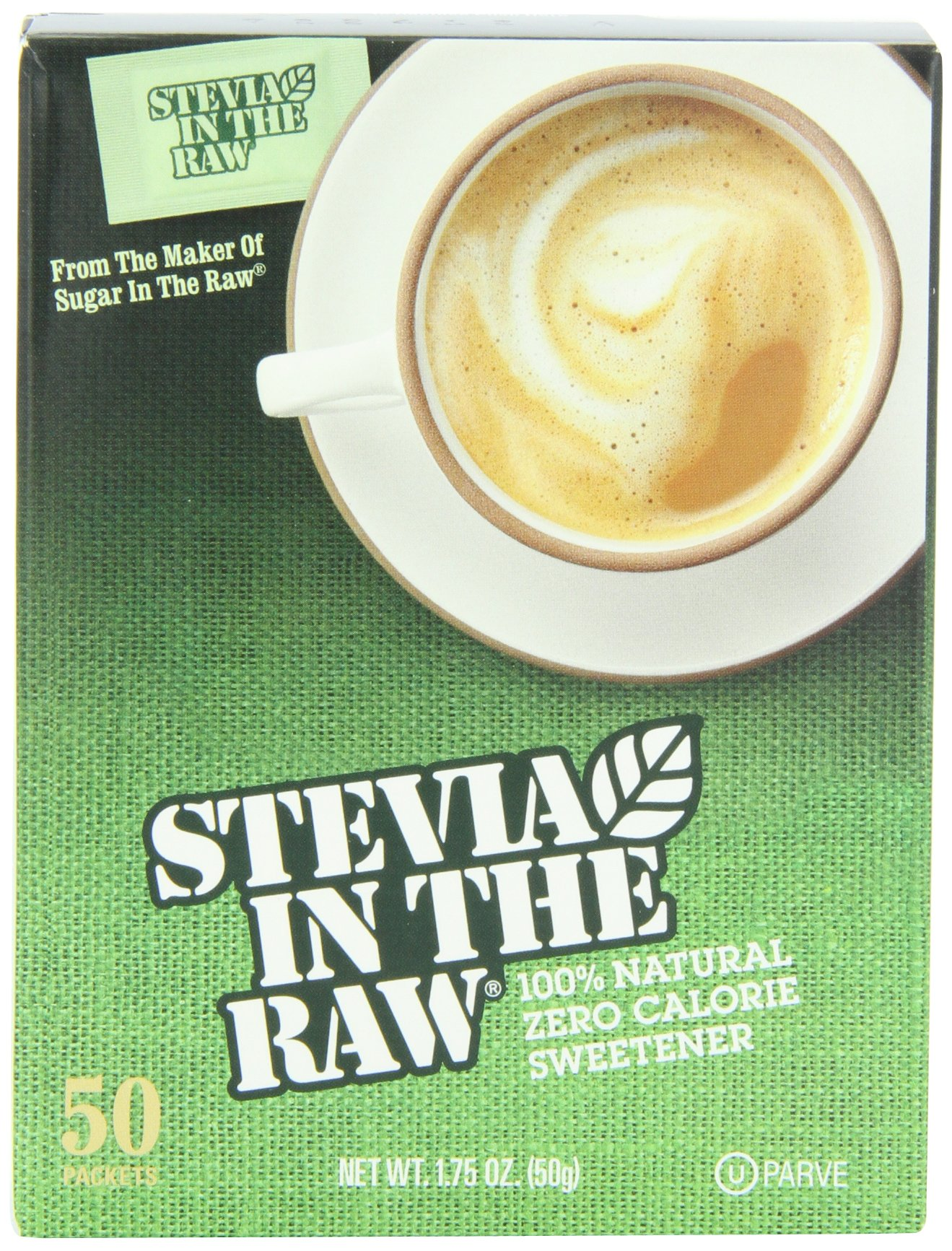 Stevia In The Raw, 50 Count Box (12 Count)
