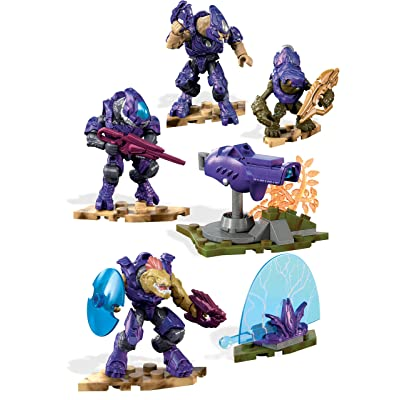 Mega Construx Halo Covenant Fireteam Building Set: Toys & Games