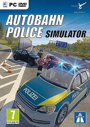Autobahn Police Simulator Pc Dvd Amazon Co Uk Pc Video Games