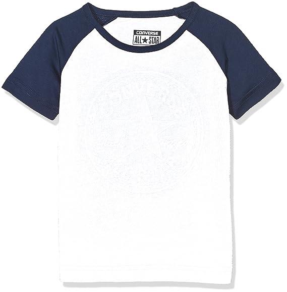 47db7582ac80 Converse Boy s Chuck Patch Raglan Tee T-Shirt  Amazon.co.uk  Clothing