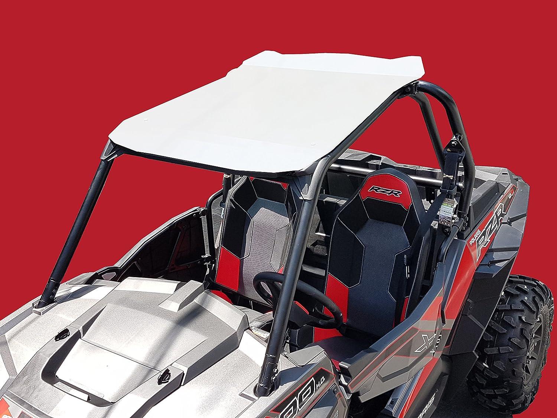 Polaris RZR XP 900/1000 Aluminum Roof 2 Seats White RaceX