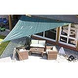 aquagart sonnensegel sandfarben sonnenblende sonnenschutz windschutz sonnendach. Black Bedroom Furniture Sets. Home Design Ideas