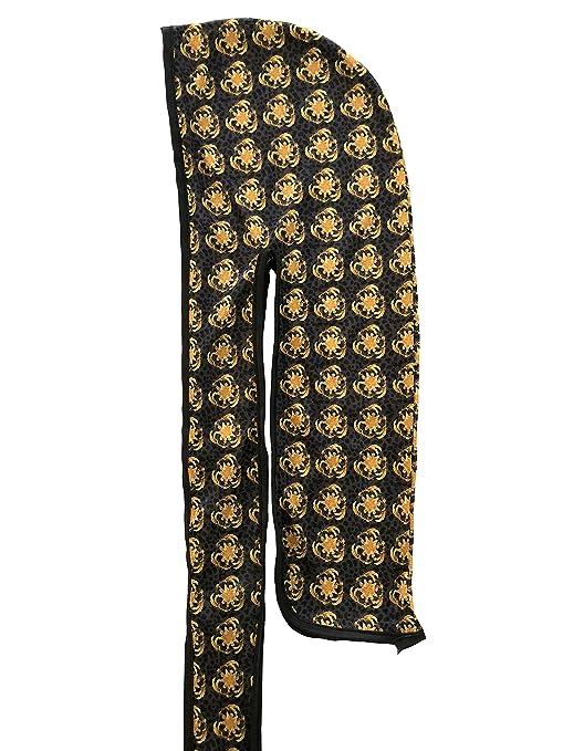 New Imagination Fosachi Silk Designer Durag Gold at Amazon Mens Clothing store: