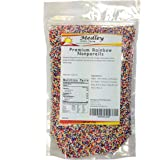 Medley Hills Farm Rainbow Nonpareils Food Decorative 1 lb.