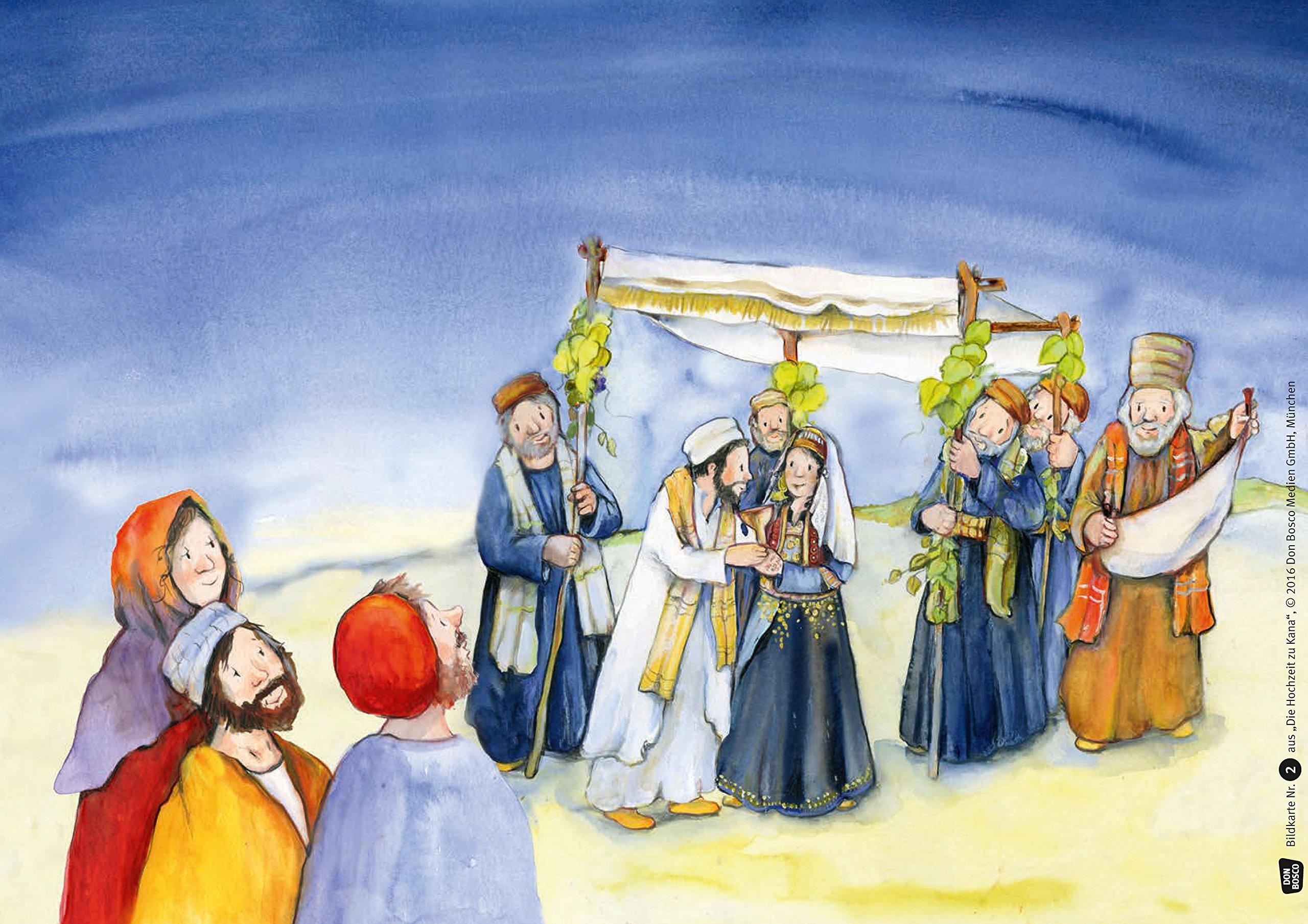 Die Hochzeit Zu Kana Bibelgeschichten Fur Unser Erzahltheater