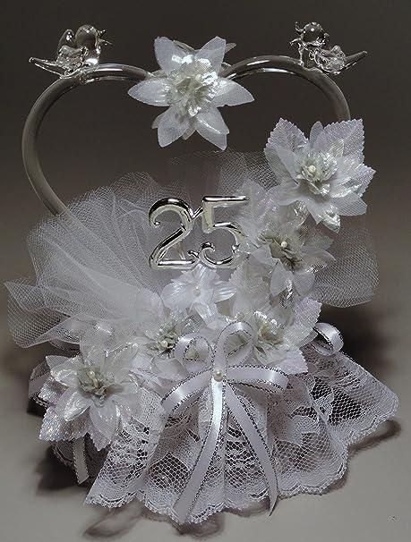 amazon com remembering the years 25th wedding anniversary cake