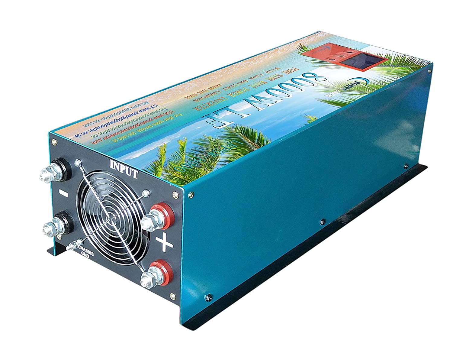 8000W//32000W LF PURE SINE WAVE POWER INVERTER DC 24V to AC240V 120A Battery Charger UPS,POWER CONVERTER