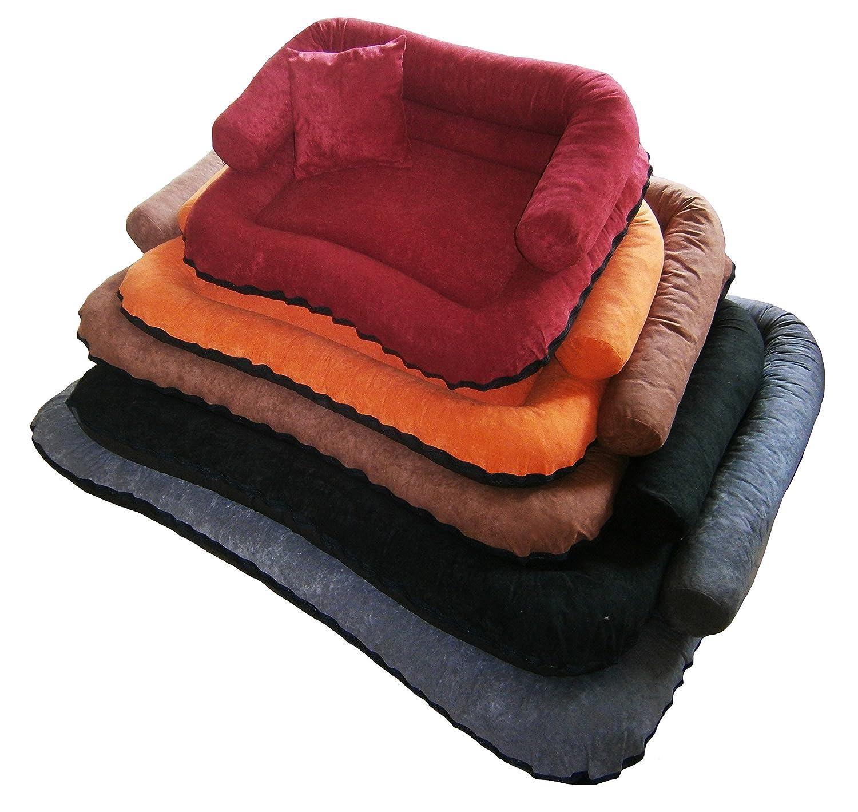 Cama para perros «Beate» en forma de sofá con cojín de ...