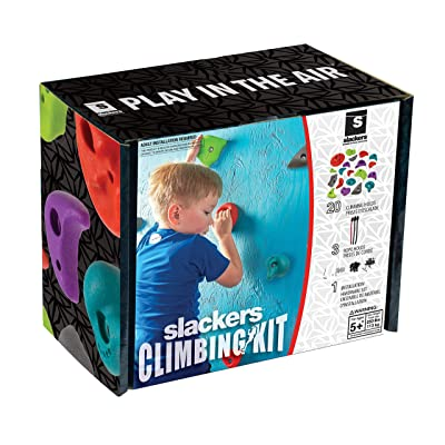Slackers Rock Climbing Holds Kit: Toys & Games