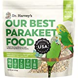 Dr. Harvey's Our Best Parakeet Food, All Natural Daily Food for Budgies and Parakeets