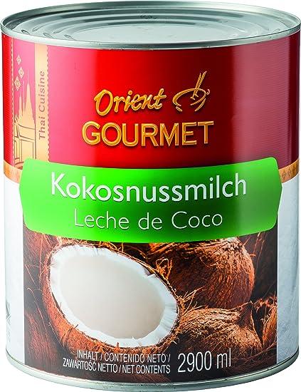 Orient Gourmet Leche de Coco, Contenido de Grasa 17-19% - 6 Latas