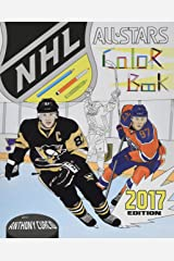 NHL All Stars 2017: Hockey Coloring and Activity Book for Adults and Kids: feat. Crosby, Ovechkin, Toews, Price, Stamkos, Tavares, Subban and 30 more! Paperback