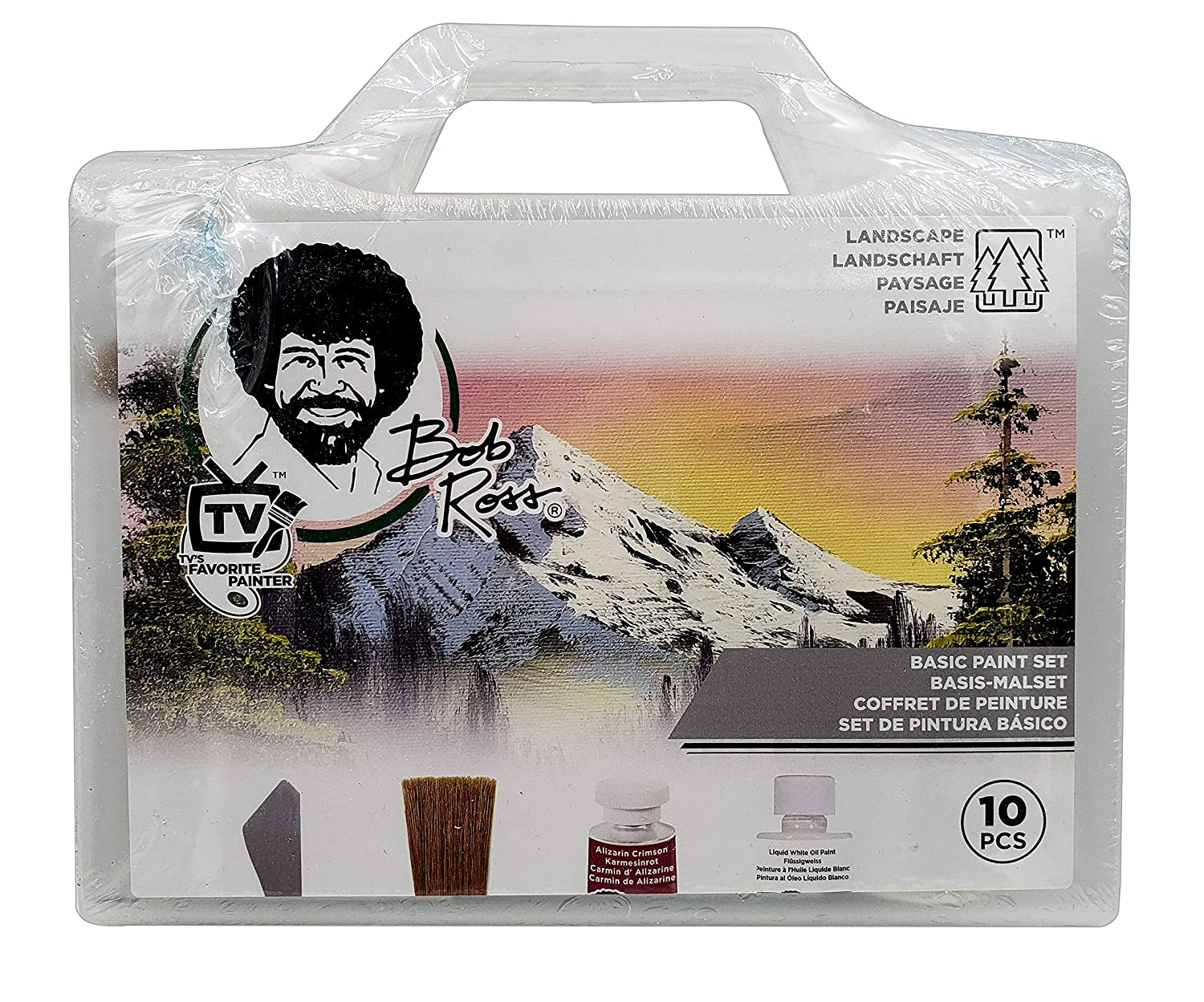 Bob Ross Basic Paint Set 10 Pieces Landscape