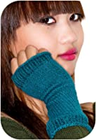 Soft Stretch Knit Cotton Hand Warmers w/ Thumb Hole by KD dance New York