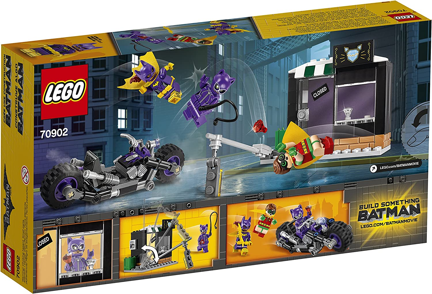 LEGO Batman Movie 70902 Catwoman Catcycle Chase Jewlery Shop Store Front Part