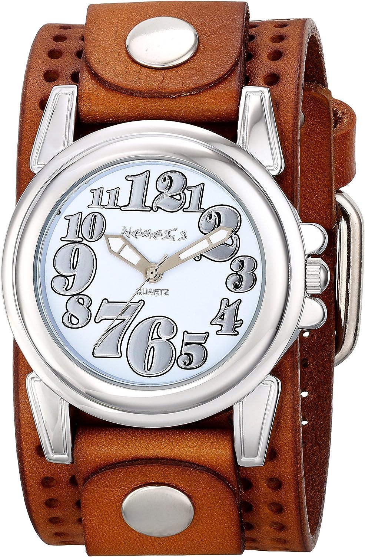 Nemesis Women s 069BPLBS Trendy Oversized Series Analog Display Japanese Quartz Brown Watch