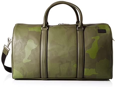 2d1a2c6ec8 Amazon.com  Jack Spade Men s Camo Dots Duffle  Clothing
