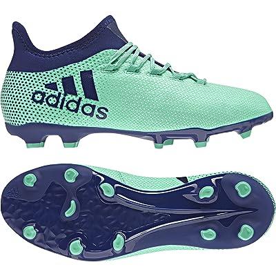 1 De Chaussure X Adidas 17 Football Chaussures Fg Vertbleu JT1Kc3lF