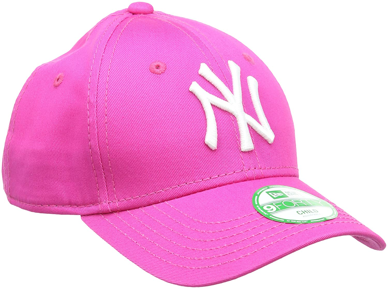 978f319c0ef New Era Girl s Kids MLB Basic NY Yankees 9Forty Adjustable Cap