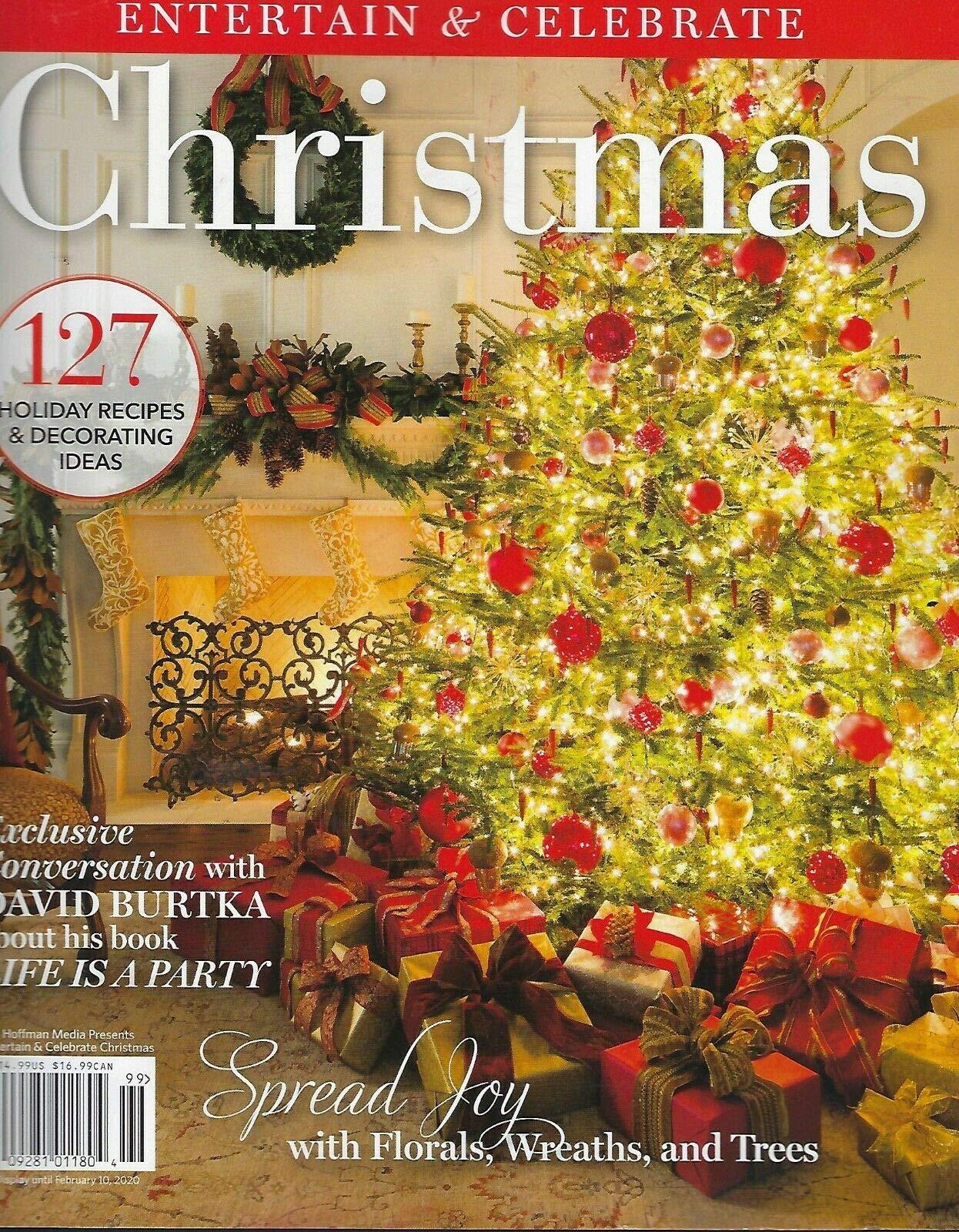 Christmas Magazines 2020 Entertain & Celebrate Christmas Magazine 2019 (127): hoff: Amazon