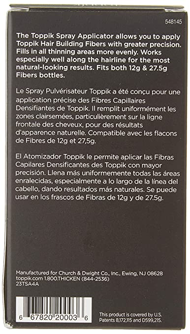 TOPPIK Hair Fibers Spray Applicator