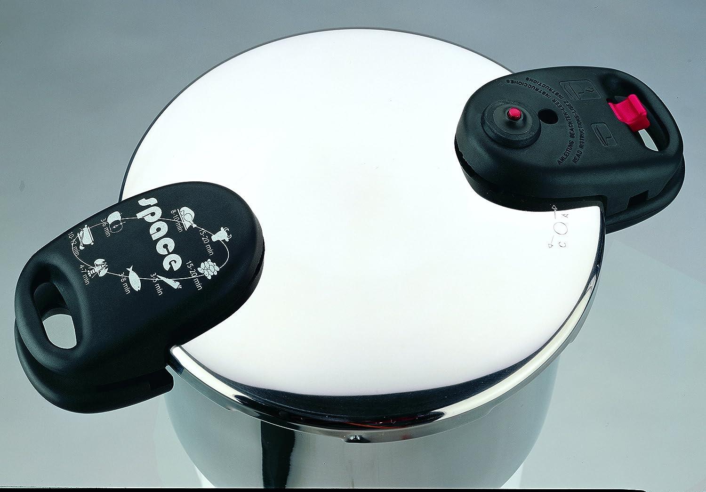 ALZA Space - Dúplex ollas súper-rápidas (4+8 litros): Amazon.es: Hogar