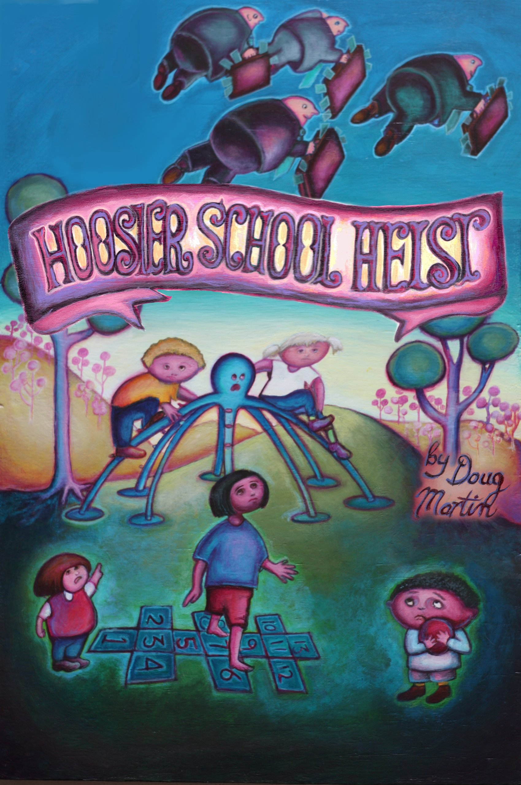 Hoosier School Heist ebook