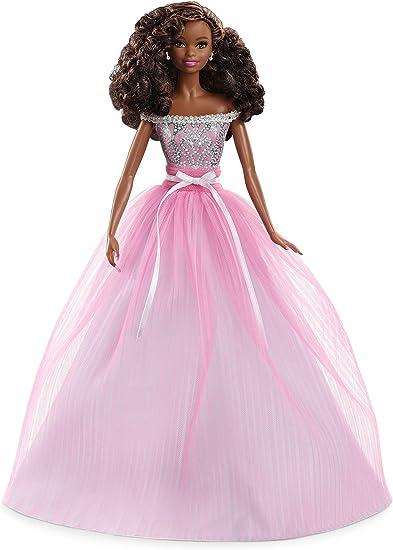 Amazon.com: Barbie Collector - Muñeca de cumpleaños, African ...