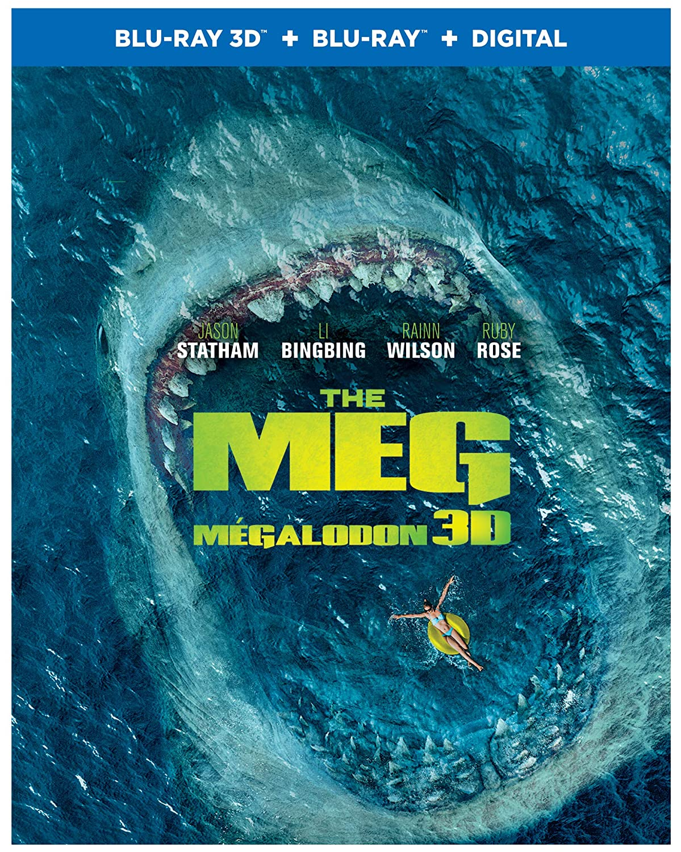 The Meg (BIL/ 3DBD) (Blu-ray 3D) Jon Turtletaub Jason Statham Bingbing Li Rainn Wilson
