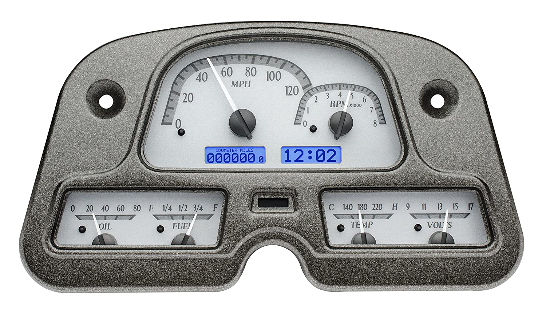 Dakota Digital 62 84 Toyota Fj40 Land Cruiser Analog Haynes Repair Manual Gauge Dash Kit Black Alloy Blue Vhx 62t Fj S B Automotive