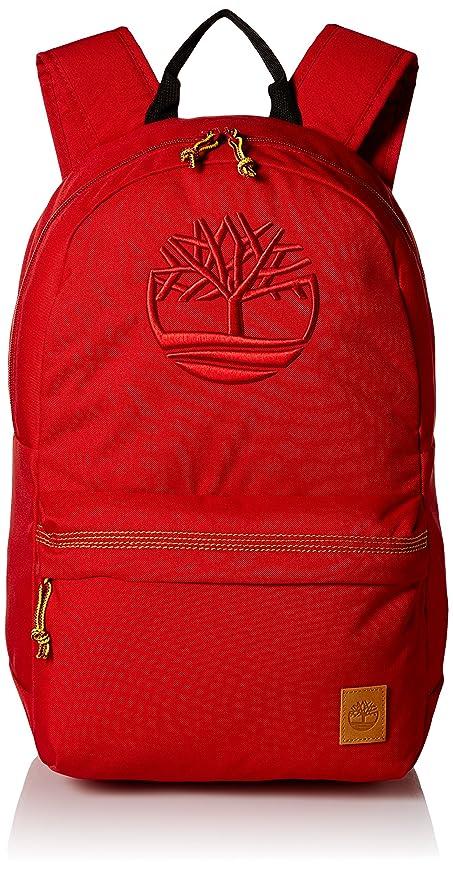7ecda176e0 Timberland Men's Mendum Pond 22l Nylon Backpack, Red: Amazon.in ...