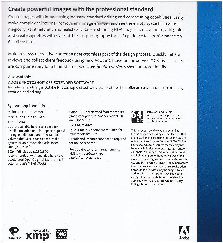 Adobe photoshop cs5 mac amazon software ccuart Images
